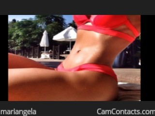Start VIDEO CHAT with mariangela