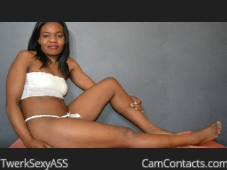Webcam model TwerkSexyASS from CamContacts