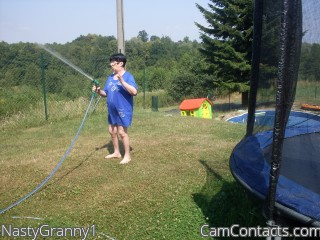 Webcam model NastyGranny1 from CamContacts