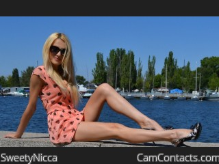 Webcam model SweetyNicca from CamContacts