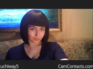 Webcam model uchiway5 from CamContacts