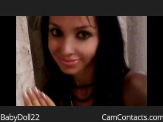 Webcam model BabyDoll22 from CamContacts