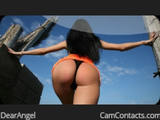Webcam model DearAngel from CamContacts