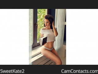 Webcam model SweetKate2 from CamContacts