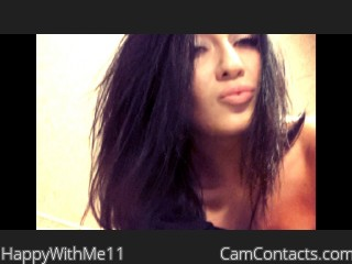 Webcam model HappyWithMe11 from CamContacts