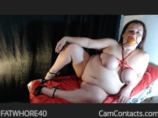 Webcam model FATWHORE40 from CamContacts
