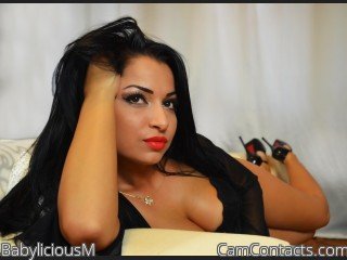 Webcam model BabyliciousM from CamContacts