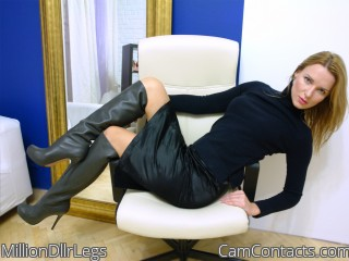 Webcam model MillionDllrLegs from CamContacts