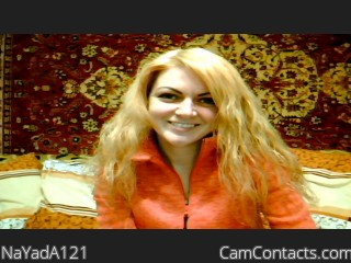 Webcam model NaYadA121 from CamContacts