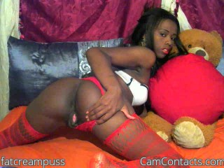 Webcam model fatcreampuss from CamContacts