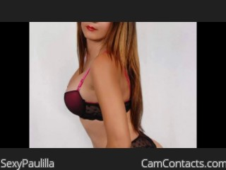 Start VIDEO CHAT with SexyPaulilla