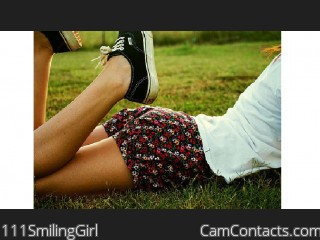 Start VIDEO CHAT with 111SmilingGirl
