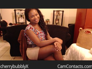 Start VIDEO CHAT with cherrybubblyX