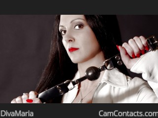 Webcam model DivaMaria from CamContacts