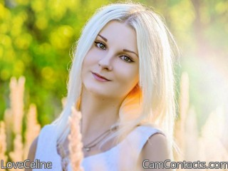 Webcam model LoveCeline from CamContacts