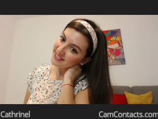 Webcam model Cathrinel from CamContacts