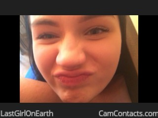 Webcam model LastGirlOnEarth from CamContacts