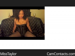 Webcam model MissTaylor from CamContacts