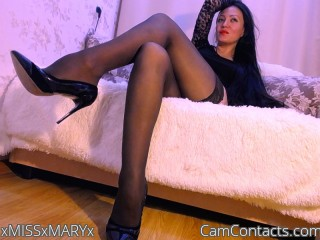 Webcam model xMISSxMARYx from CamContacts
