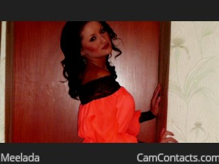 Webcam model Meelada from CamContacts