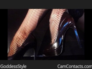 Webcam model GoddessStyle from CamContacts