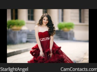Webcam model StarlightAngel from CamContacts