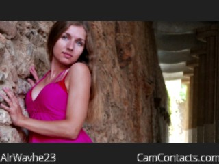 Webcam model AirWavhe23 from CamContacts