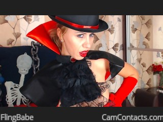 Webcam model FlingBabe from CamContacts