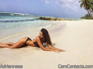 Webcam model Adriannaaa from CamContacts