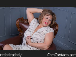 Webcam model redadeptlady from CamContacts