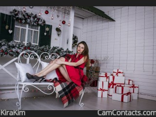 Webcam model KiraKim from CamContacts