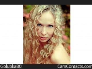 Webcam model Golubka80 from CamContacts