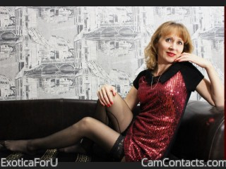 Webcam model ExoticaForU from CamContacts