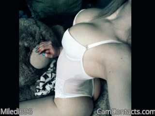 Webcam model Miledi696 from CamContacts