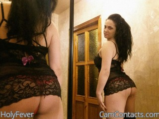 Webcam model HolyFever from CamContacts