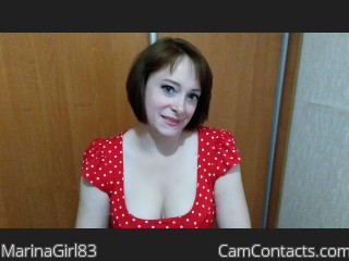 Start VIDEO CHAT with MarinaGirl83