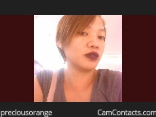 Start VIDEO CHAT with preciousorange