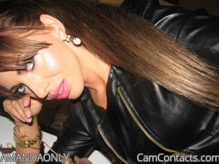 Webcam model AMANDAONLY from CamContacts