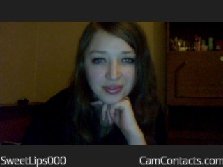 Webcam model SweetLips000 from CamContacts