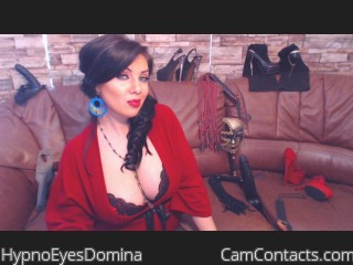 Webcam model HypnoEyesDomina from CamContacts