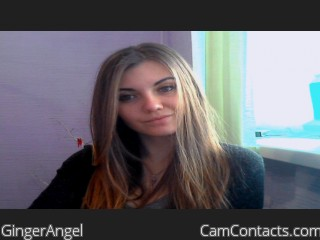 Webcam model GingerAngel from CamContacts