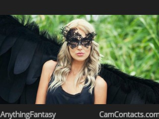 Webcam model AnythingFantasy from CamContacts