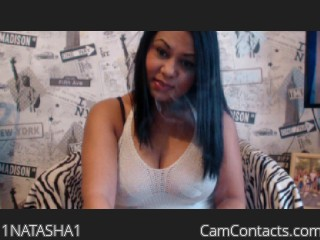 Webcam model 1NATASHA1 from CamContacts