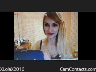 Start VIDEO CHAT with XLolaX2016