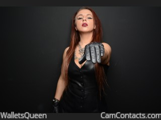 Start VIDEO CHAT with WalletsQueen