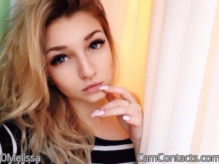 Webcam model 0Melissa from CamContacts