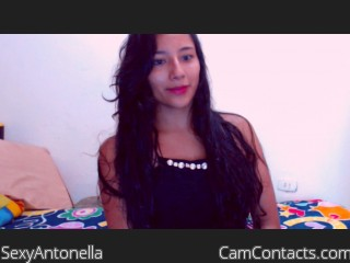Webcam model SexyAntonella from CamContacts