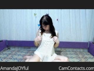 Start VIDEO CHAT with AmandaJOYful