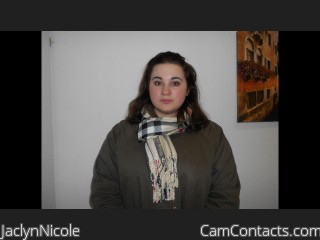 Webcam model JaclynNicole from CamContacts