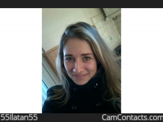 Webcam model 55Ilatan55 from CamContacts